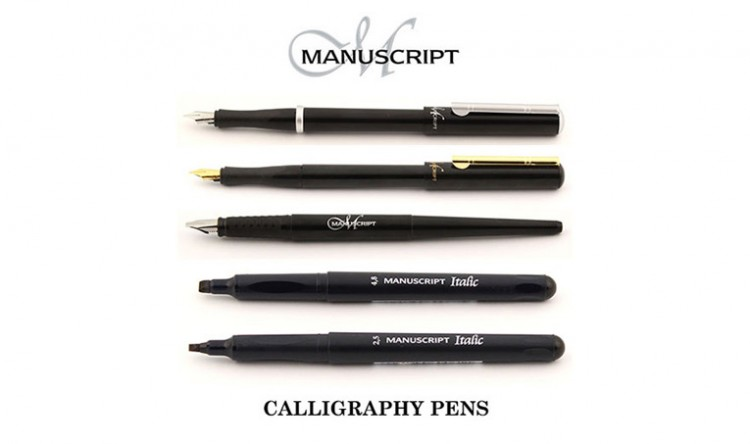 Manuscript Pens - manufacturerd in the heart of Great Britain