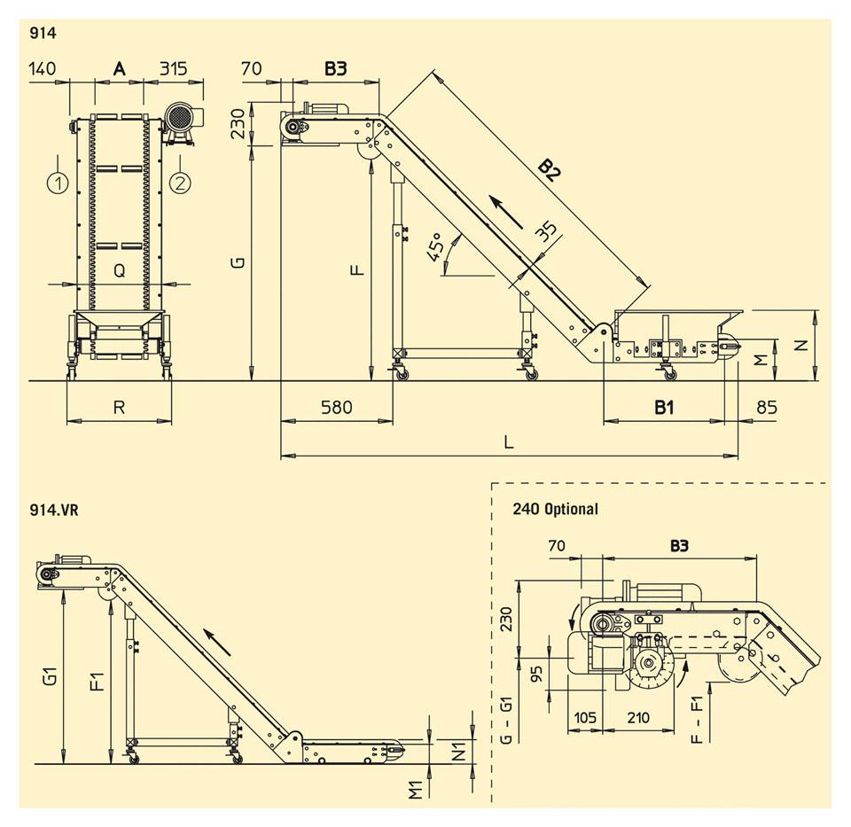 model 914 - 914 VR layout