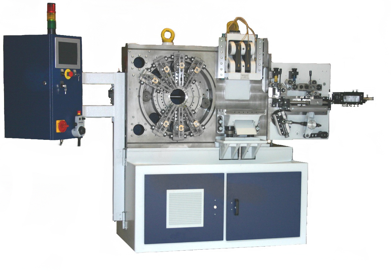 Multi-slide bending and forming machines