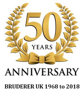 BUK 50th Anniversary logo
